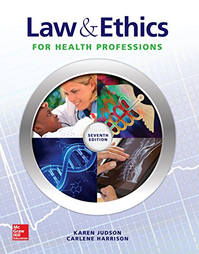 Law & Ethics for Health Professions Pdf
