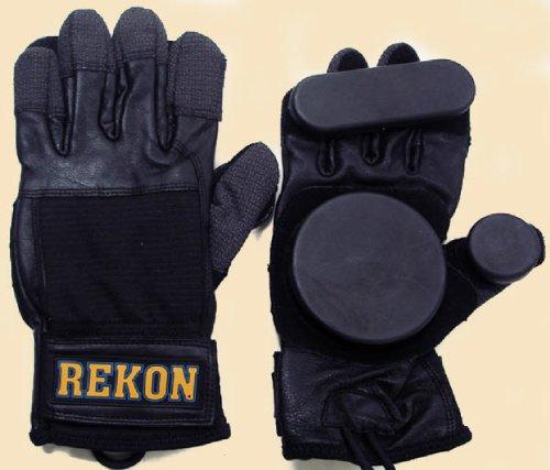 Brand New REKON Longboard Skateboard Down Hill Sliding Gloves Size (Down Mitt)