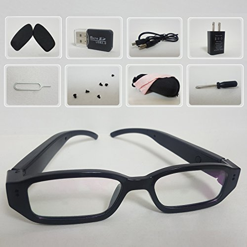 69ec82ab27e1 Galleon - LDPmade Spy Camera Glasses - Hidden Camera Glasses - Mini Spy  Camera 1080p - USB Glasses Camera - Hidden Spy Camera - Hidden Nanny Cam -  Hidden ...