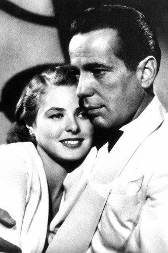 Ingrid Bergman Humphrey Bogart in Casablanca 24x36 Poster Silverscreen