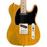 Sawtooth ST-ET-BSB Electric Guitar, Butterscotch with Black Pickguard