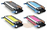 Toner Eagle Brand Compatible Set of Four Toner Cartridges For Use In Hewlett Packard Color Laserjet 3600, 3600N, 3600DN, 3600DTN. Set Includes Four Compatible Cartridges to Replace Q6470A, Q6471A, Q6472A and Q6473A., Office Central