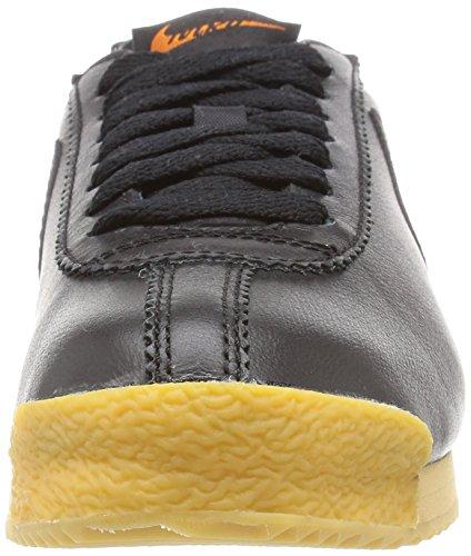 Nike Damen Wmns Cortez 72 Turnschuhe Black (Schwarz / Schwarz-Balsa-Gum Gelb)