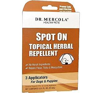 Dr Mercola Natural Flea U0026 Tick Defence For Dogs U0026 Cats (236ml)