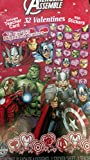 Hallmark Avengers Assemble 32 Valentine Cards With Stickers, Includes Teacher Card.