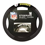 NFL Seattle Seahawks Poly-Suede Steering Wheel Cover