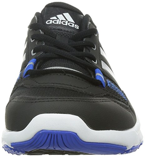 adidas Gym Warrior .2 - Zapatillas de cross training para hombre Negro / Plata / Azul