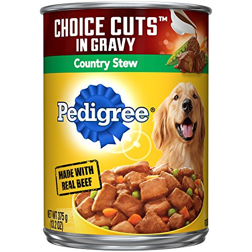 Pedigree Choice Cuts In Gravy Canned Wet Dog Food Country Stew, (12) 13.2 Oz....