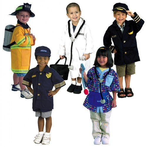 Dramatic Play Costumes - Career Set (Set of 5) by None