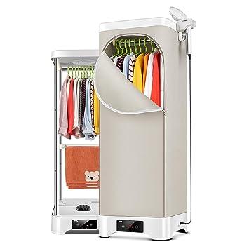 QXKMZ Secadora, secadoras por condensación de Ropa Secador de Ropa de Secado rápido para el hogar Estante de Secado al Viento de Planchado con Ahorro de ...