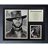 Legends Never Die Clint Eastwood Framed Photo Collage, 11 by 14-Inch
