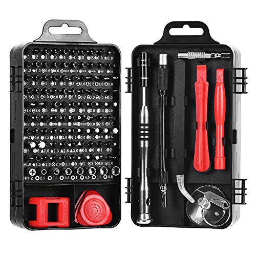 Precision Screwdriver Set,Magnetic Screwdriver Repair Tool Kit for iPhone Series/Mac/iPad/Xbox Series/PS3/PS4/Nintendo Switch/Eyeglasses/Watch,Cellphone/PC/Electronic