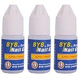 BestOfferBuy 30PCS Acrylic Nail Art Glue French False Tips Manicure Tool 3g