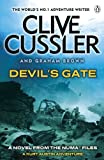 Front cover for the book Devil's Gate by Clive Cussler