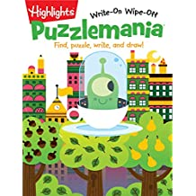 Puzzlemania®: Find, puzzle, write, and draw!