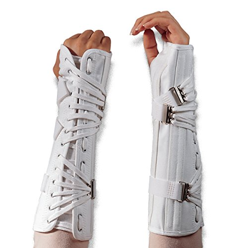 Wrist Splint Lace - Canvas Cock-Up Lace Forearm Wrist Splint Brace Support 8631 8632 (L, Right)