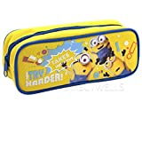 """Despicable Me Minions """"I Try Harder """" Pencil Case (1 Pencil Case) (Yellow)"""