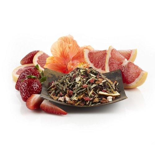 Teavana Strawberry Grapefruit Xue Long Loose- Leaf Green Tea, (Tea Strawberry Tea)