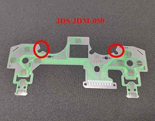 Ribbon Circuit Board Film Flex Cable for PS4 Dualshock 4 JDS-055 PS4 050 Controller Conductive Film Keypad Flex Cable PCB Joystick Buttons