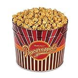 microwave caramel corn - Popcornopolis Gourmet Popcorn 1.26 Gallon Tin (Caramel)