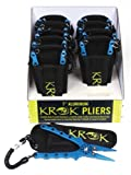 KROK APRP7 Aluminum Pliers 7.5″ Straight Jaw w/side cutter, Lanyard & Sheath Review