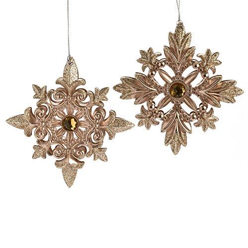 Rose gold ornament amazon