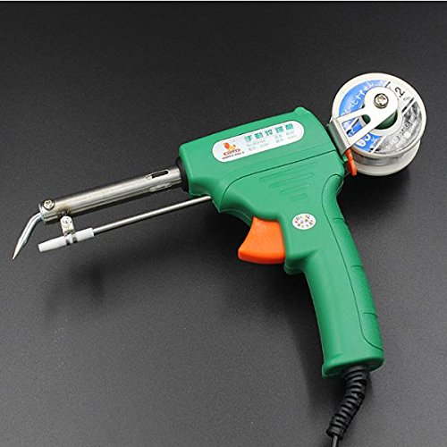 New Wynns W3104 220V 60W Hand Automatic Electric Geating Weld Soldering Iron Gun Tool Set
