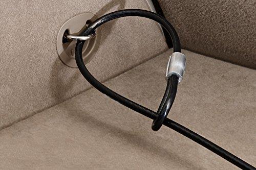 Review SnapSafe Under Bed Safe 75400, Matte Black, Gun Storage and Security