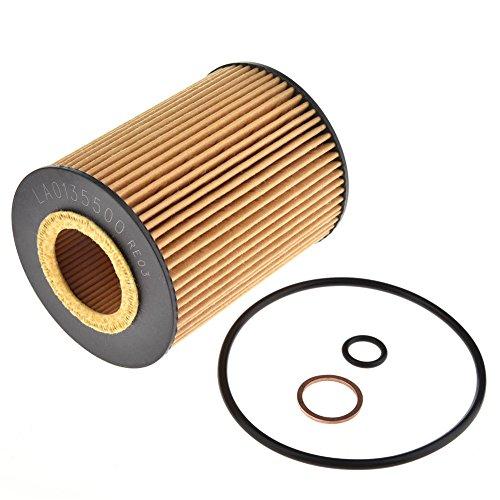 (Facaimo Engine Oil Filter Kit For BMW E60 545I E63 645Ci E65 745I 745Li E53 X5 4.4L 4.8L)