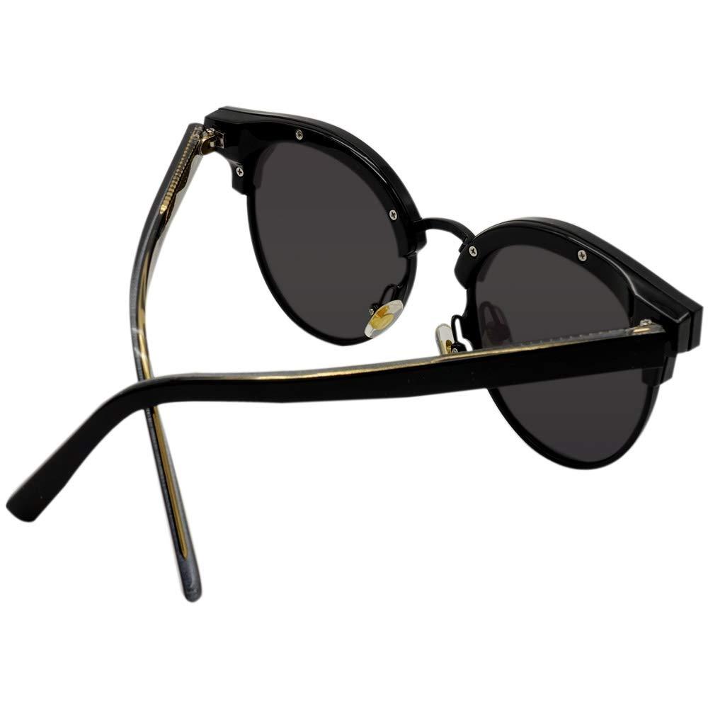Amazon.com: Gicl 3937 Gafas de sol de gran tamaño con espejo ...