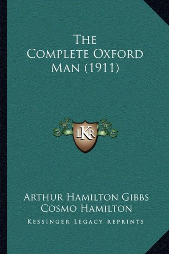 Hamilton Mens Oxford (The Complete Oxford Man (1911))