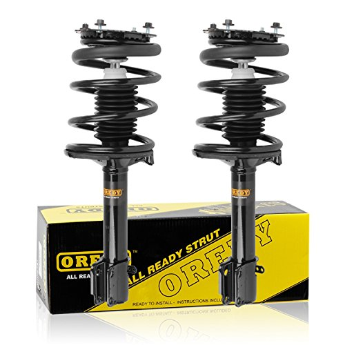 OREDY Rear Left & Right Complete Struts Assembly Spring Assembly Kit Shock Absorber G56967 181960 1332340 ST8535 Compatible with Dodge Neon/Plymouth Neon 1995 1996 1997 1998 1999 ()