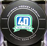 NHL Vancouver Canucks Official Game Puck