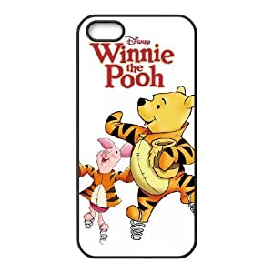Unique Design Cases Tirzb iPhone 5, 5S Cell Phone Case The Many Adventures of Winnie the Pooh Printed Cover Protector