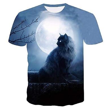 Camisetas,Niños Ocio Pareja Juego Personaje 3D Camiseta Animal ...
