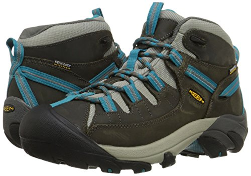 Pictures of KEEN Women's Targhee II Mid Waterproof Gargoyle/Caribbean Sea 4