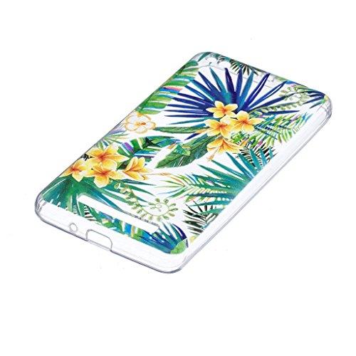 Cover para Xiaomi Redmi 4A 5.0 , WenJie Nubes de unicornio Transparente Color sólido TPU Silicona Suave Funda Case Tapa Caso Parachoques Carcasa Cubierta para Xiaomi Redmi 4A 5.0 WM96