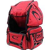Latitude 64 DG Luxury E2 Backpack Disc Golf Bag Red/Black