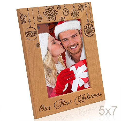 Kate Posh - Our First Christmas Picture Frame (5x7 ()