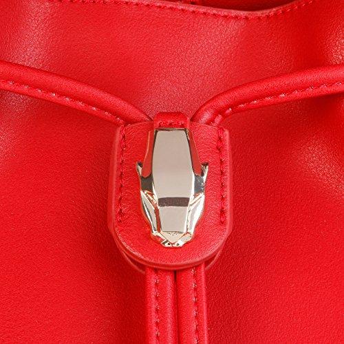 Cross Crossbody Genuine Bag Yellow Designer Women Cavalli Body Class F8OPqxFBdw