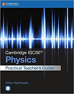 Bittorrent Descargar Español Cambridge Igcse: Physics. Practical Teacher Guide. Con Cd-rom Libro Patria PDF