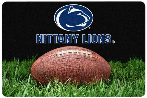 NCAA Penn State Nittany Lions Classic Football Pet Bowl Mat, Large