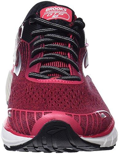 Brooks Adrenaline GTS 18, Scarpe da Running Donna Rosa (Pink/Black/White 1b619)