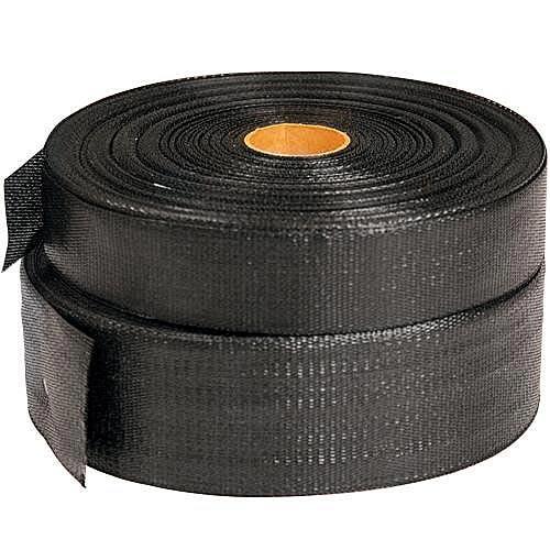 LEONARD Batten Strapping Polypropylene Webbing, Black (2....
