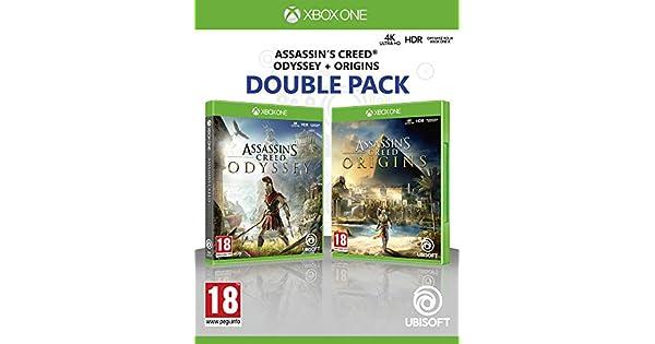 Compilation Assassins Creed Origins + Assassins Creed Odyssey ...