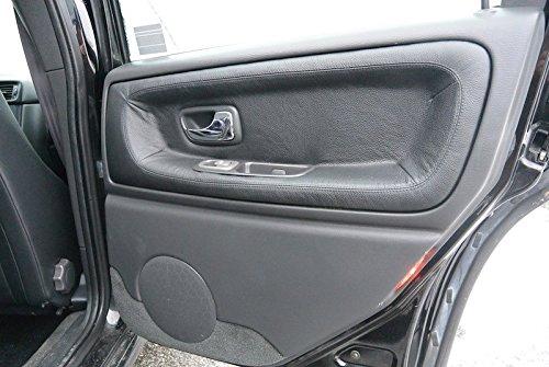 RedlineGoods leather/Alcantara door insert covers - rear tailor-made for Volvo S70 1997-00