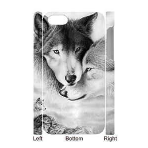 3D Bumper Plastic Case Of Fox customized case For iPhone 5 5s