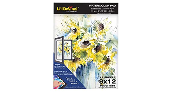 "Strathmore 300 Series Watercolor Paper Pads 9X12/"" Pad 9x12/"""