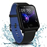 Fitpolo Health Fitness Tracker, Waterproof Activity Tracker Heart Rate Monitor, Step Calories Counter, Sleep Monitor, Stopwatch, Breath Training, Pedometer, Smart Watch for Kids Woman Man
