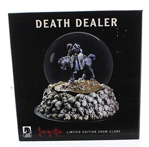 Dark Horse Deluxe Frank Frazetta: Death Dealer Snow Globe Statue